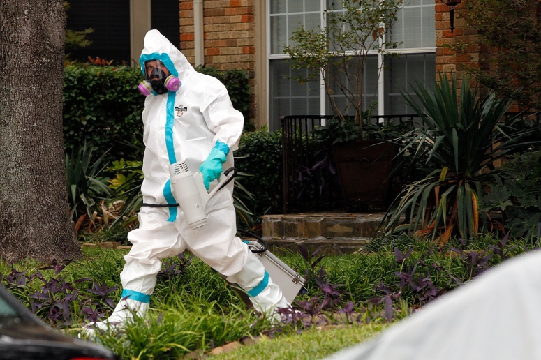 Worker Biological Hazard Suit
