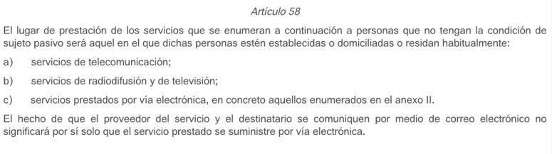 Artículo 58.(c)